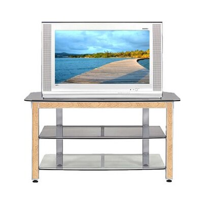 Cheap Wood Technology MG Silver 44″ TV Stand with Maple Trim Kit (WT0302)