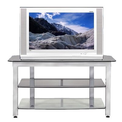 Wood Technology MG Silver 44″ TV Stand with Optional Trim Kit (WT0326)