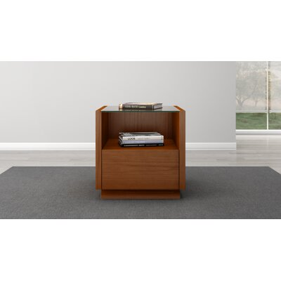 Contemporary End Table Finish: Light Cherry