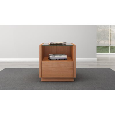 Contemporary End Table Finish: Natural Cherry