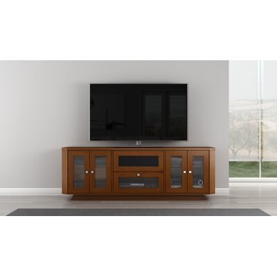 Transitional 70 TV Stand Color: Light Cherry