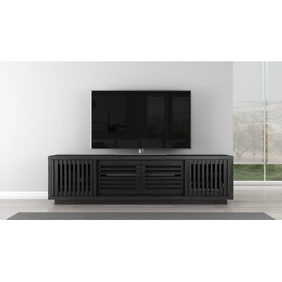 Signature Home TV Stand Color: Ebony