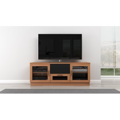 Modern TV Stand Finish: Natural Stained Cherry