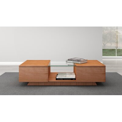 Contemporary Coffee Table Color: Natural Cherry