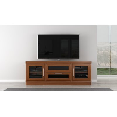 Modern TV Stand Finish: Light Cherry