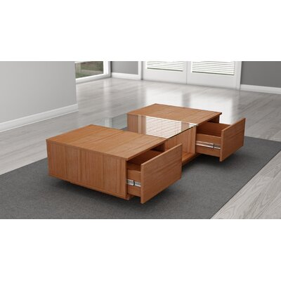 Contemporary Coffee Table Finish: Natural Cherry
