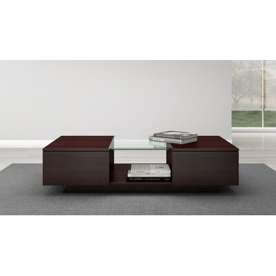 Contemporary Coffee Table Finish: Wenge