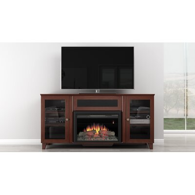 Shaker 70 TV Stand with Fireplace