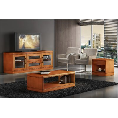 Table Features One Drawer Optional TV Stand Features Media Storage