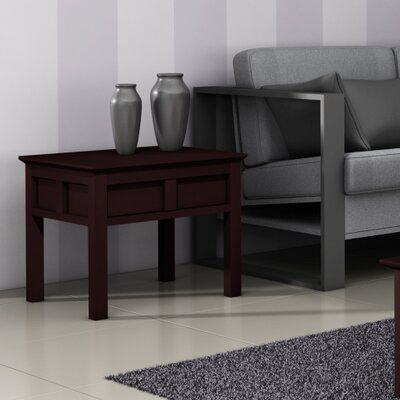 Cheap Furnitech Asian End Table in Wenge (FNT1044)