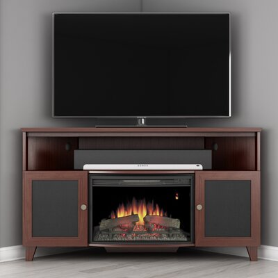 Shaker 61 TV Stand with Fireplace