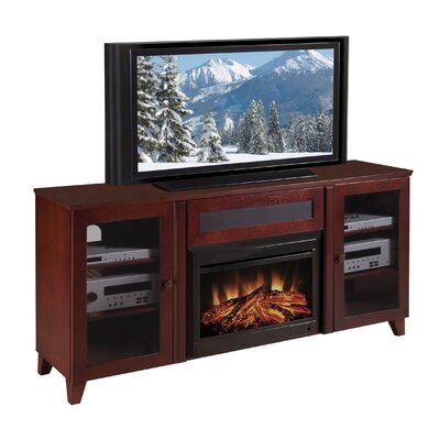 Cheap Furnitech Shaker Style Electric Fireplace TV Console (FNT1134)