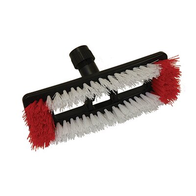 Deck Scrub Brush with Swivel Joint (Set of 12)