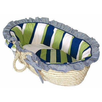 Hoohobbers Lacrosse Moses Basket - Size: Baby