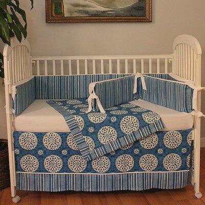 Medallion 4 Piece Crib Bedding Set 280-22