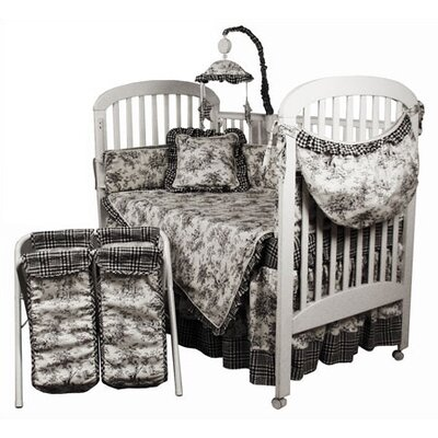 Crib Bedding Collection in Etoile Black