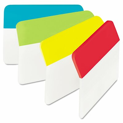 Angled Hanging File Tab (Pack of 24) (Set of 2) Color: Assorted Primary