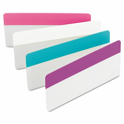 Durable File Tabs (Pack of 24) (Set of 2) Color: Assorted Pastel