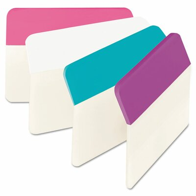 Angled Hanging File Tab (Pack of 24) (Set of 2) Color: Assorted Pastel