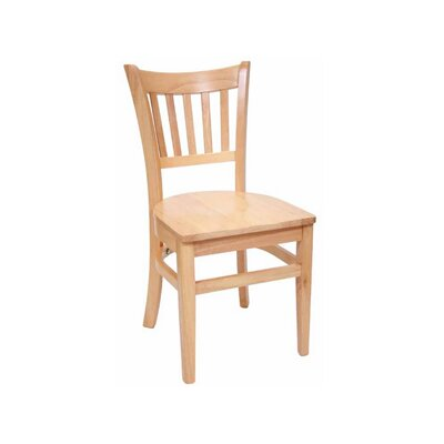 Legacy Side Chair (Set of 2) Finish: Natural