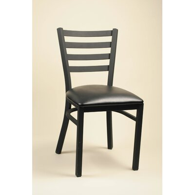 Diana Side Chair (Set of 2) Upholstery: Black