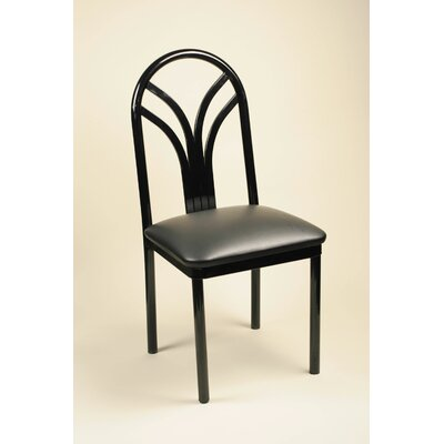 Financing Lily Side Chair Upholstery: Black...