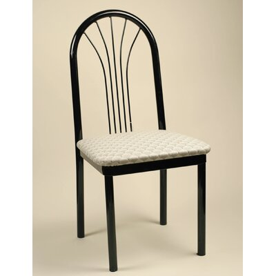 Rent Parlor Side Chair Upholstery: Black...