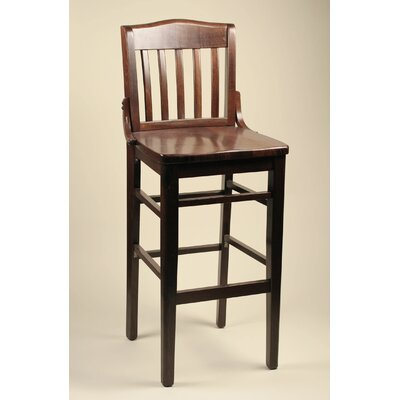 30 Bar Stool Frame Finish: Mahogany