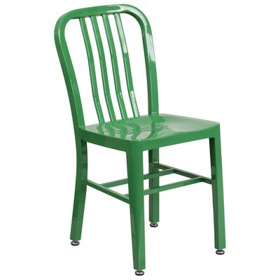 Side Chair (Set of 2) Finish: Green