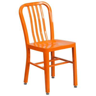 Side Chair (Set of 2) Finish: Orange