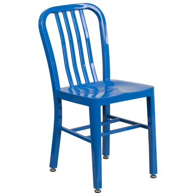Side Chair (Set of 2) Finish: Blue