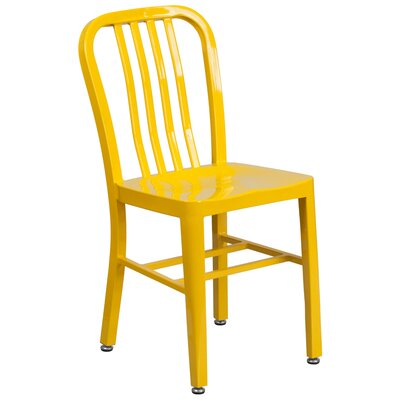 Side Chair (Set of 2) Finish: Yellow