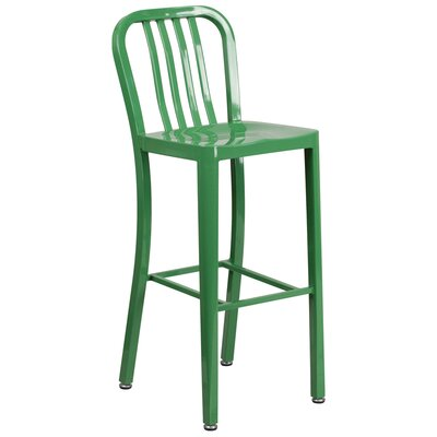 30.25 Bar Stool Finish: Green