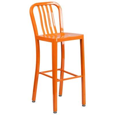 30.25 Bar Stool Finish: Orange