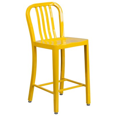 24 Bar Stool Finish: Yellow