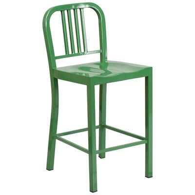 24 Bar Stool Finish: Green