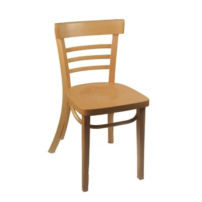 Ladderback Side Chair (Set of 2) Finish: Natural