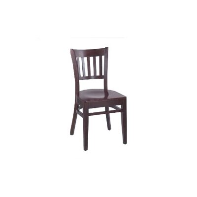Legacy Side Chair (Set of 2) Finish: Walnut