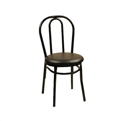 Picture of Alston Ice Cream Side Chair Upholstery: Doe in Large Size