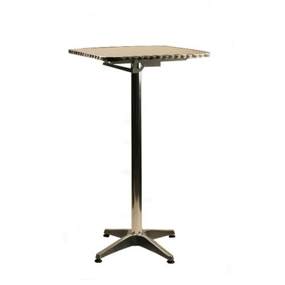 "Easy financing 24"" Square Top Aluminum Table ..."