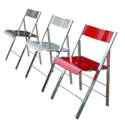 Bad credit financing Lucite Folding Side Chairs (Set of ...