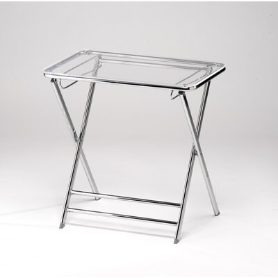 Lucite Folding End Table