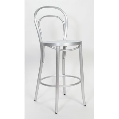Vienne 30 Bar Stool Finish: Brushed