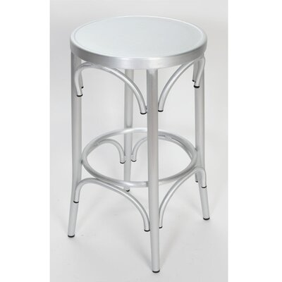Lugano 24 Bar Stool Finish: Brushed