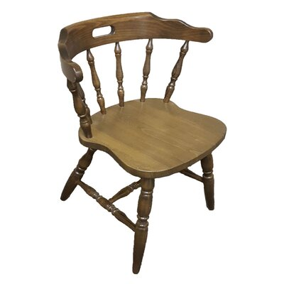 Colonial Wood Chair (Set of 2) Frame Finish: Walnut
