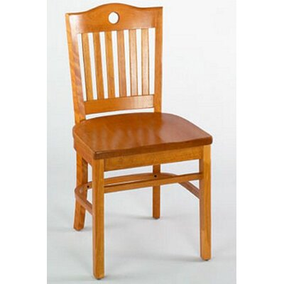 Port Side Chair (Set of 2) Finish: Natural