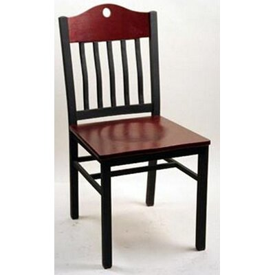 Port Side Chair (Set of 2) Finish: Mahogany