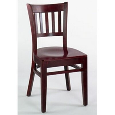 Legacy Side Chair (Set of 2) Finish: Mahogany