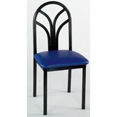Lily Side Chair (Set of 2) Upholstery: New Soho: Royal Blue