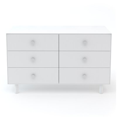 Classic 6 Drawer Double Dresser